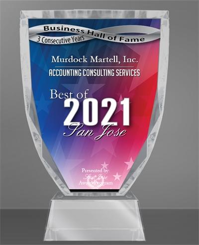 Murdock Martell, Inc. Receives 2021 Best of San Jose Award